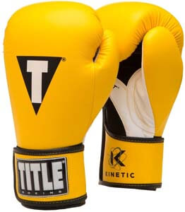 6. Title Boxing Kinetic Aerovent Boxing Gloves