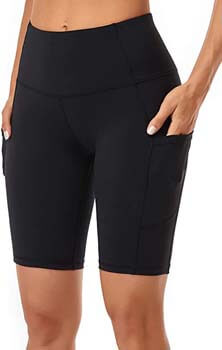 9. Women's Short Yoga Side Pockets
