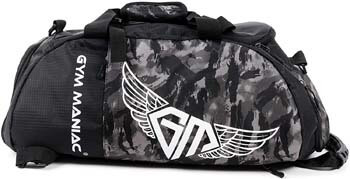 3. Gym Maniac GM 3-Way Gym Bag