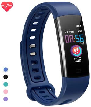 3. moreFit Kids Fitness Tracker with Heart Rate Monitor