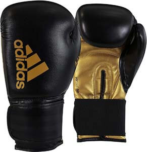 1. Adidas Hybrid 50 Boxing and Kickboxing Gloves