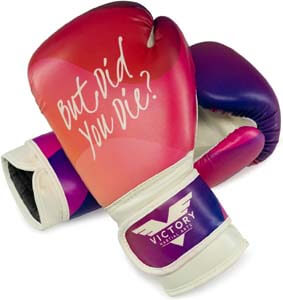 9. Victory Martial Arts Women's Cardio Kickboxing Boxing Gloves