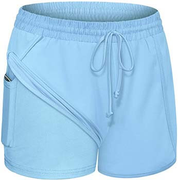 5. Women Yoga Running Shorts